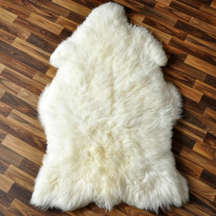 XXL ÖKO Schaffell sheep creme weiß 120 x 70-80 cm