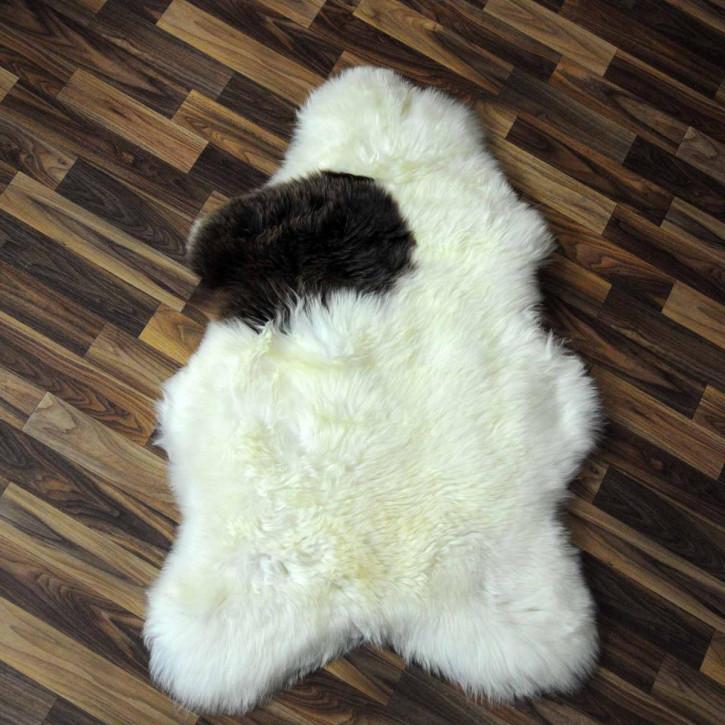 XXXL ÖKO Schaffell Fell creme weiß 135x80 sheepskin #2053