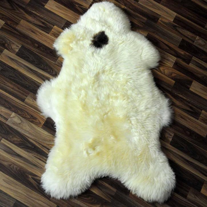 XXL ÖKO Schaffell Fell creme weiß 125x80 sheepskin #2068