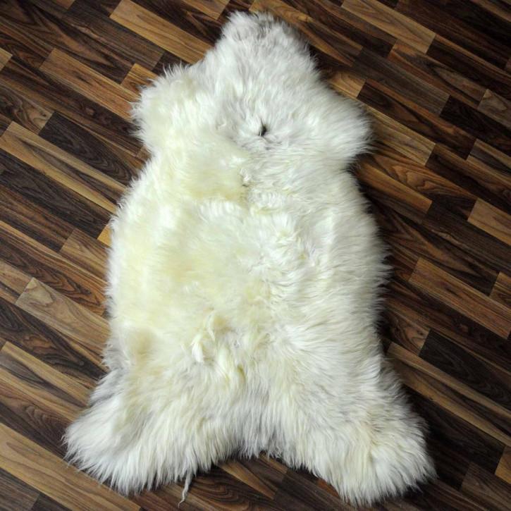 XXL ÖKO Schaffell Fell creme weiß 120x75 sheepskin #2069
