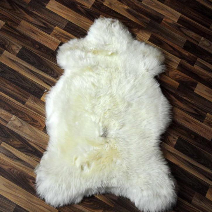 XL ÖKO Schaffell Fell creme weiß 115x80 sheepskin #2071