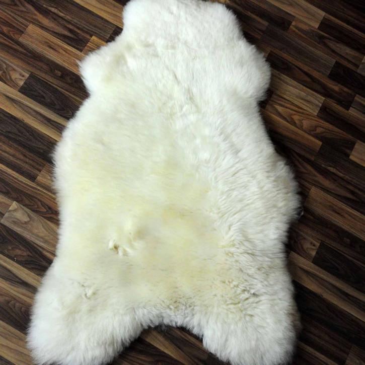 XL ÖKO Schaffell Fell creme weiß 115x75 sheepskin #2088