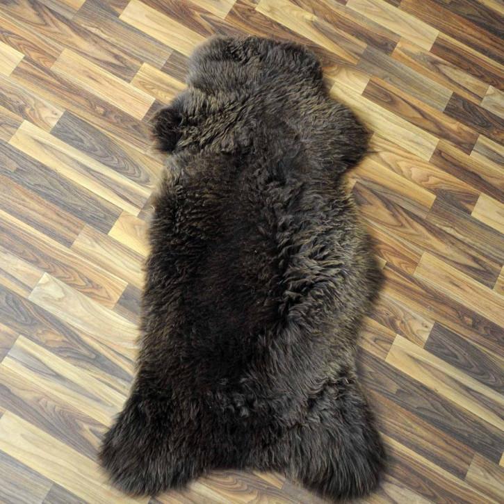 Schaffellteppich Felldecke 200x155 Schaffell Teppich Patchwork #2128