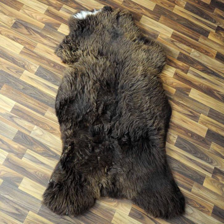 XL ÖKO Schaffell Fell creme weiß 115x70 sheepskin #2305