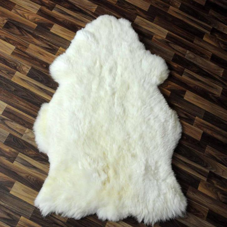 XXL ÖKO Island Schaffell schwarzbraun 125x75 #2340