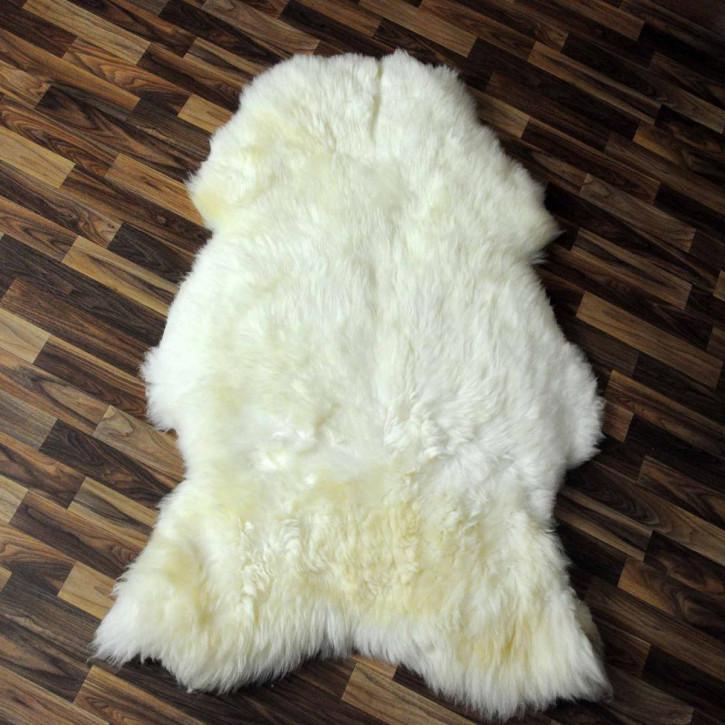 XXL ÖKO Island Schaffell braun 125x85 Krampus #2342