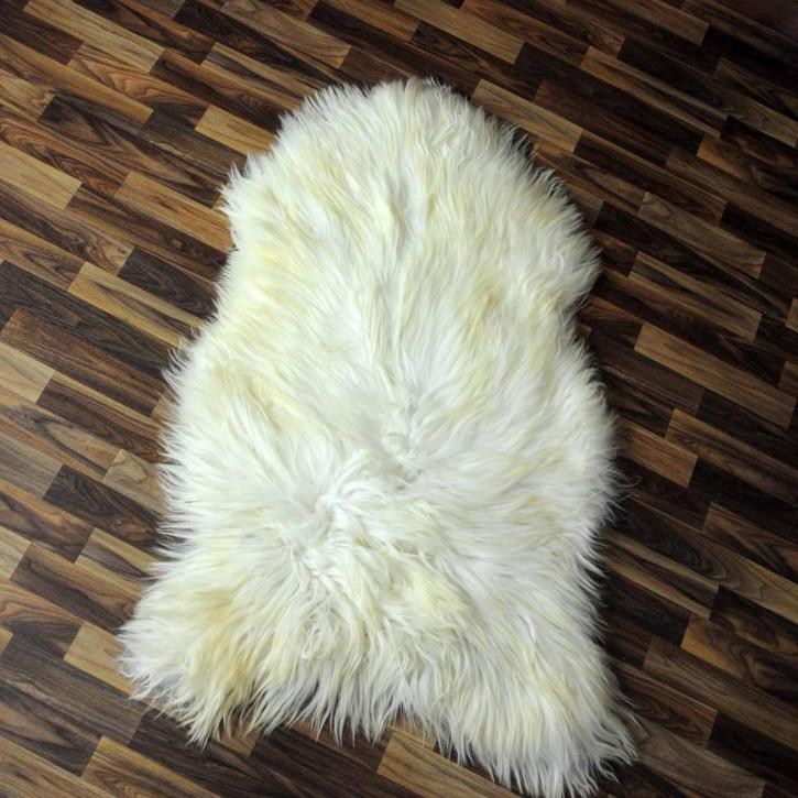 XXL ÖKO Island Schaffell schwarzbraun grau 125x75 #2346