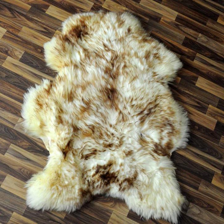 ÖKO Island Schaffell creme weiß 105x70 Fell Auflage #2354