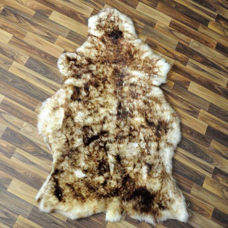 ÖKO Schaffell Fell braun 100x65 Hundebett Teppich #2370