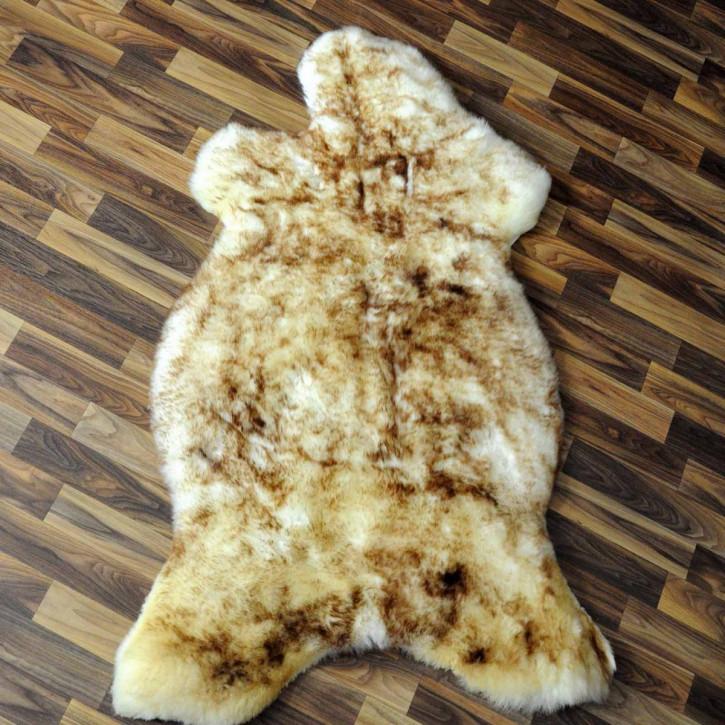 ÖKO Schaffell Fell braun 105x70 Hundebett Teppich #2379