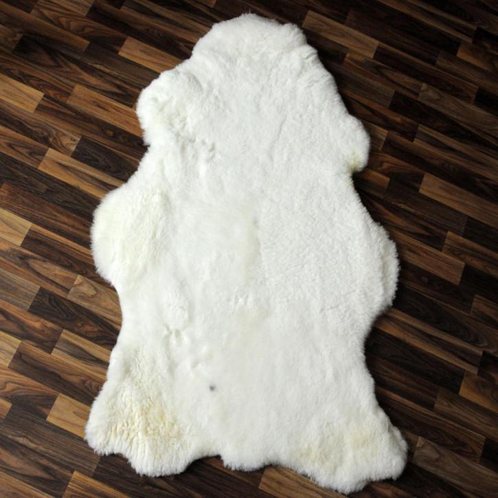 ÖKO Island Schaffell creme weiß 105x75 Fell Auflage #2412