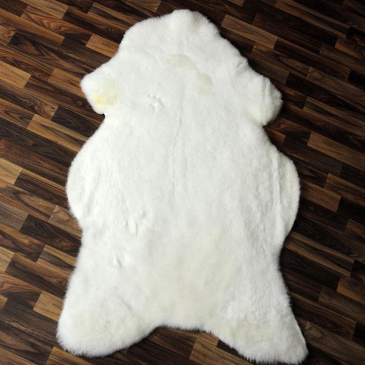 ÖKO Island Schaffell creme weiß 100x70 Fell Auflage #2415