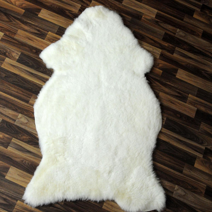 ÖKO Island Schaffell creme weiß 100x75 Fell Auflage #2417