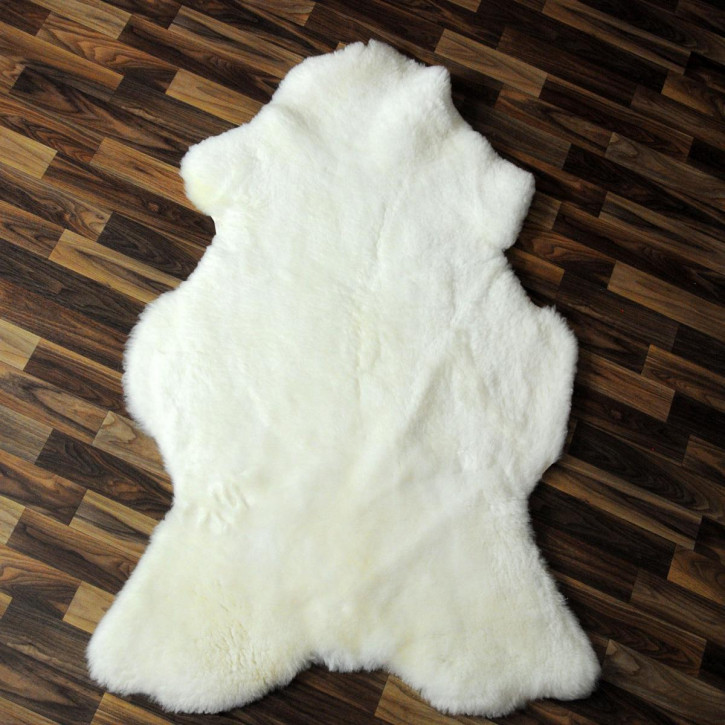 ÖKO Island Schaffell creme weiß 100x70 Fell Auflage #2428