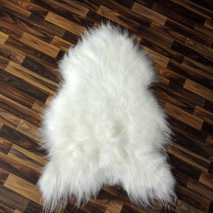 ÖKO Island Schaffell schwarz braun geflammt 105x70 #2441
