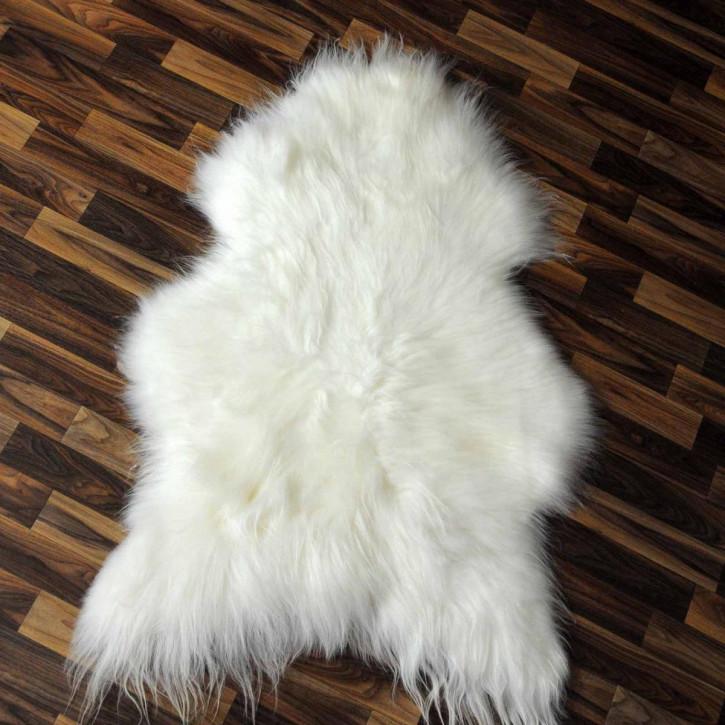 ÖKO Island Schaffell schwarz braun geflammt 105x75 #2446