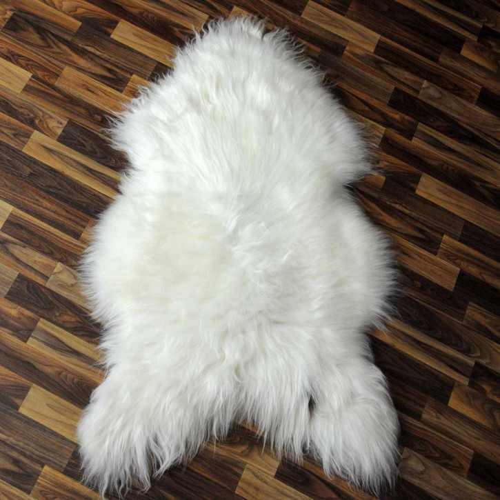 XXXL ÖKO Schaffell Fell creme weiß 130x80 sheepskin #2461