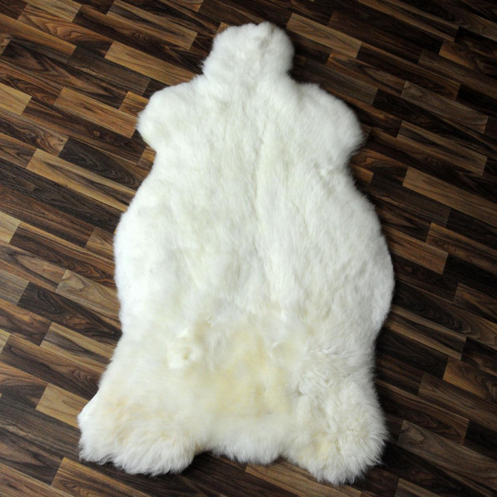 XXL ÖKO Island Schaffell creme weiß 120x80 Fell #2509