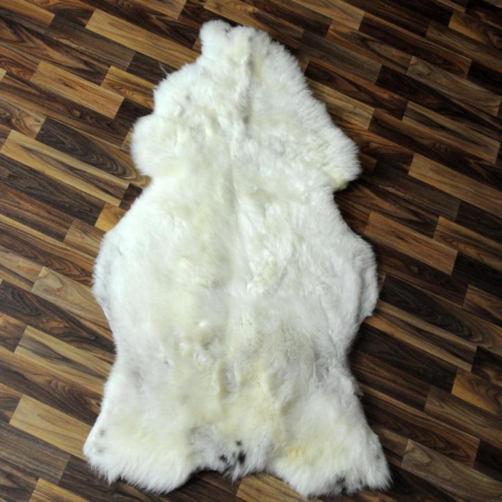 XL Schaffell Fell creme weiß 115x70 Stuhl Couch Auflage #2519