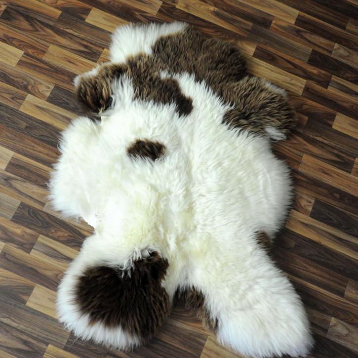 XL Schaffell Fell creme weiß 110x70 Stuhl Couch Auflage #2532