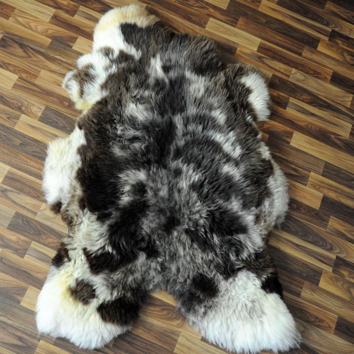 XL Schaffell Fell creme weiß 110x70 Stuhl Couch Auflage #2534