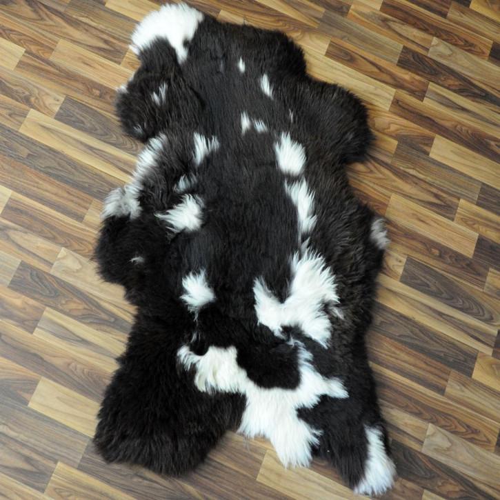 XL Schaffell Fell creme weiß 110x70 Stuhl Couch Auflage #2535