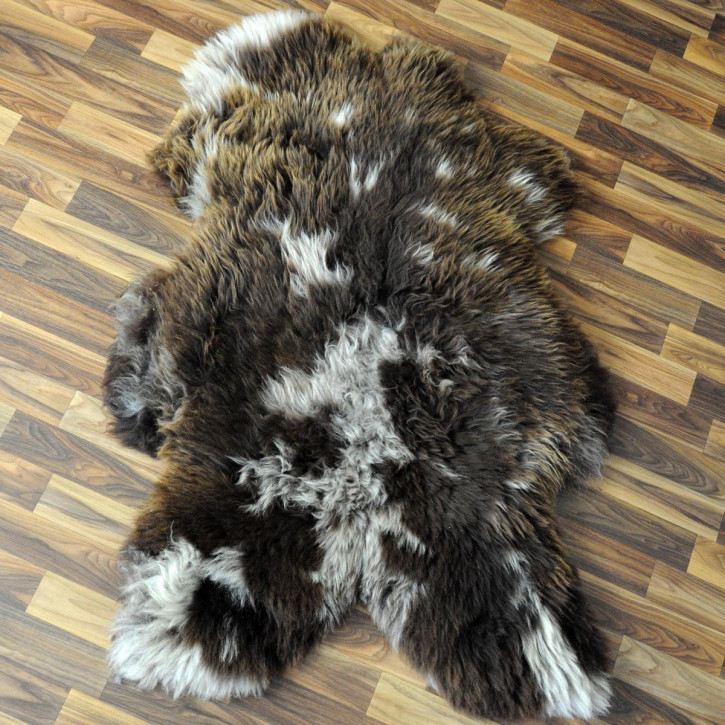 XL Schaffell Fell creme weiß 110x65 Stuhl Couch Auflage #2545