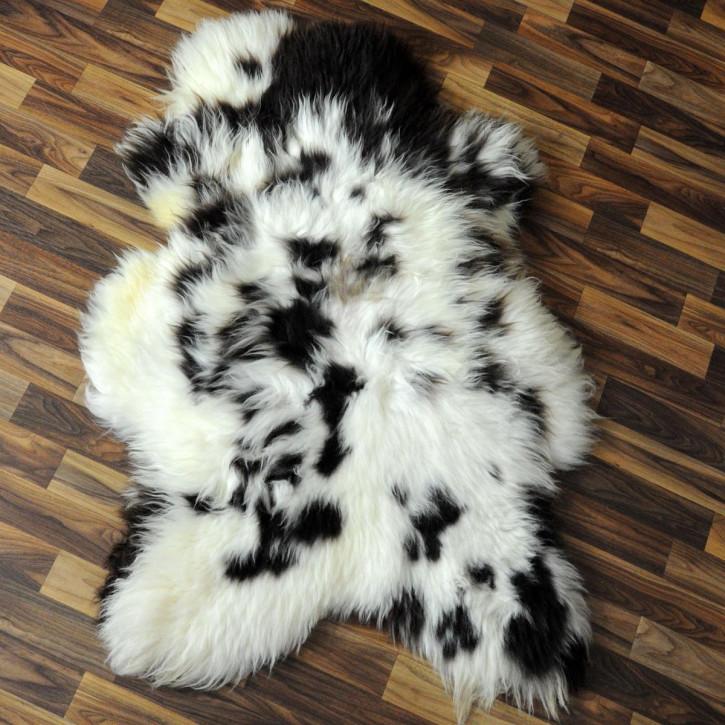 XL Schaffell Fell creme weiß 110x70 Stuhl Couch Auflage #2550