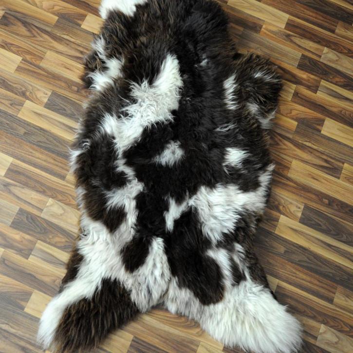 XL Schaffell Fell creme weiß 115x65 Stuhl Couch Auflage #2568