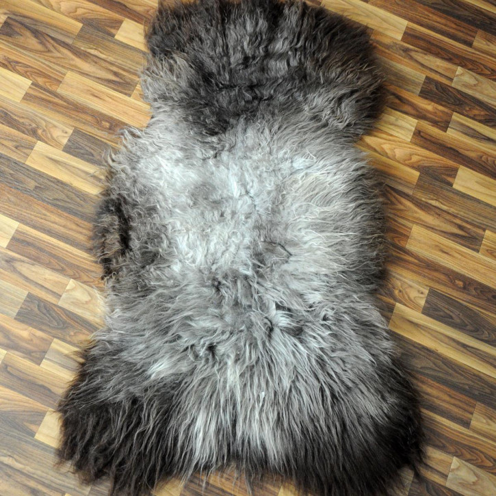 XL ÖKO Schaffell Fell creme weiß 115x75 Fellteppich #2575