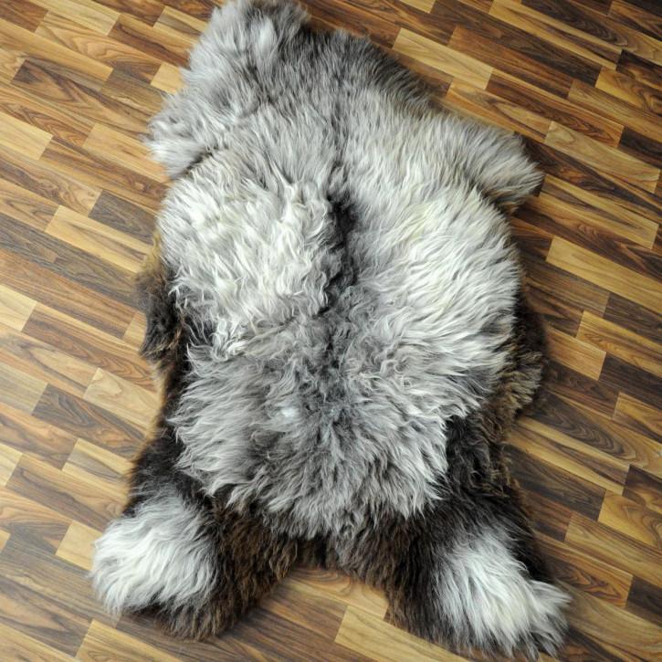 XL Schaffell Fell creme weiß 115x75 Stuhl Couch Auflage #2578