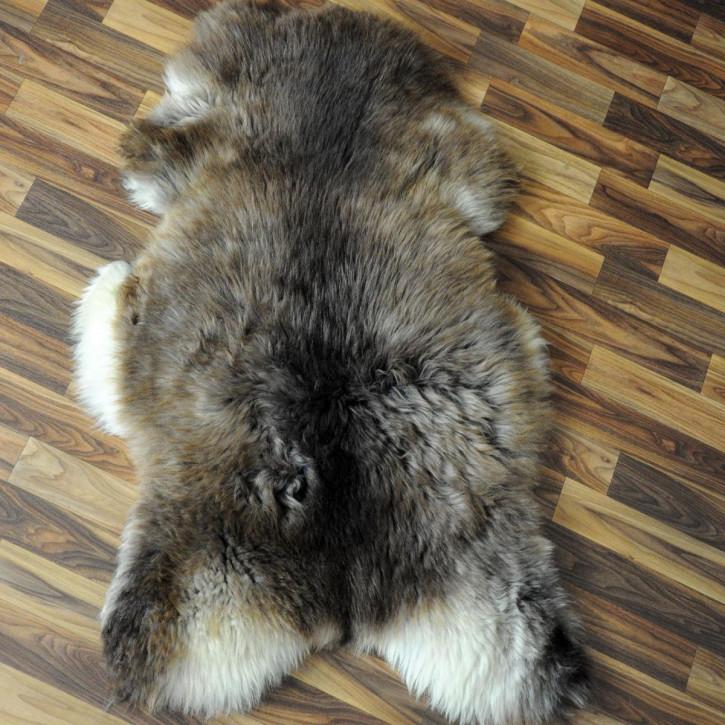 XL Schaffell Fell creme weiß 110x70 Stuhl Couch Auflage #2581