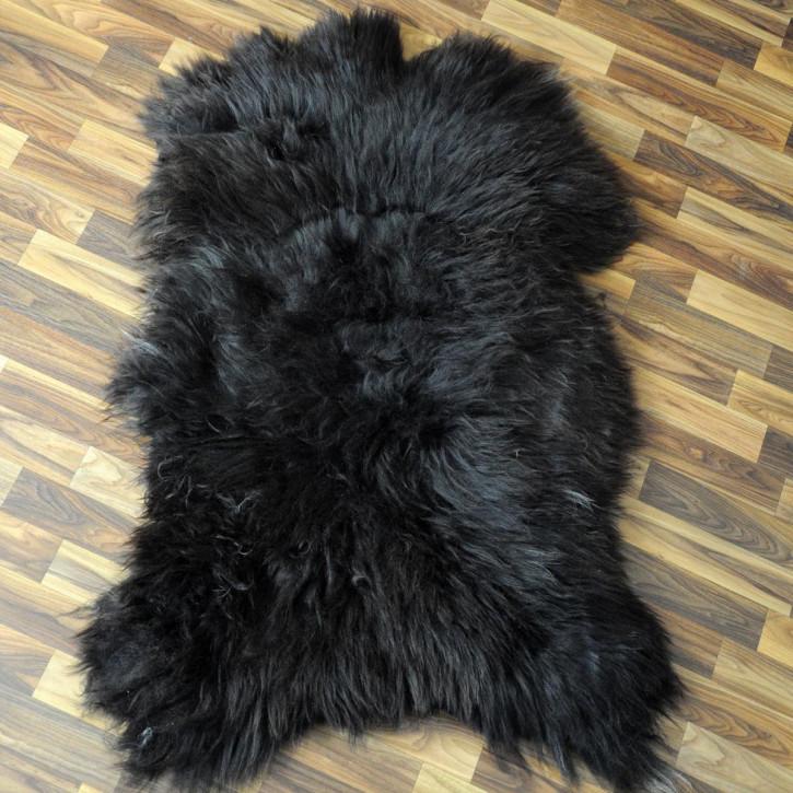 XL Schaffell Fell creme weiß 110x70 Stuhl Couch Auflage #2586
