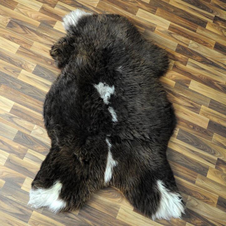XXXL ÖKO Schaffell Fell creme weiß 140x80 sheepskin #2608