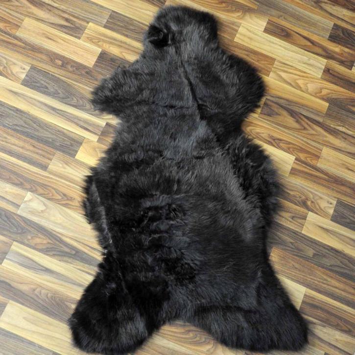 Island Schaffell grau schwarz geflammt 105x70 Auflage #2701