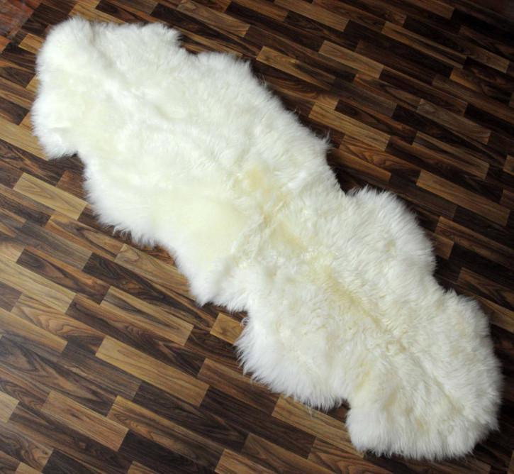 XXL Island Schaffell Lammfell grau 120x65 Geschenk #2759