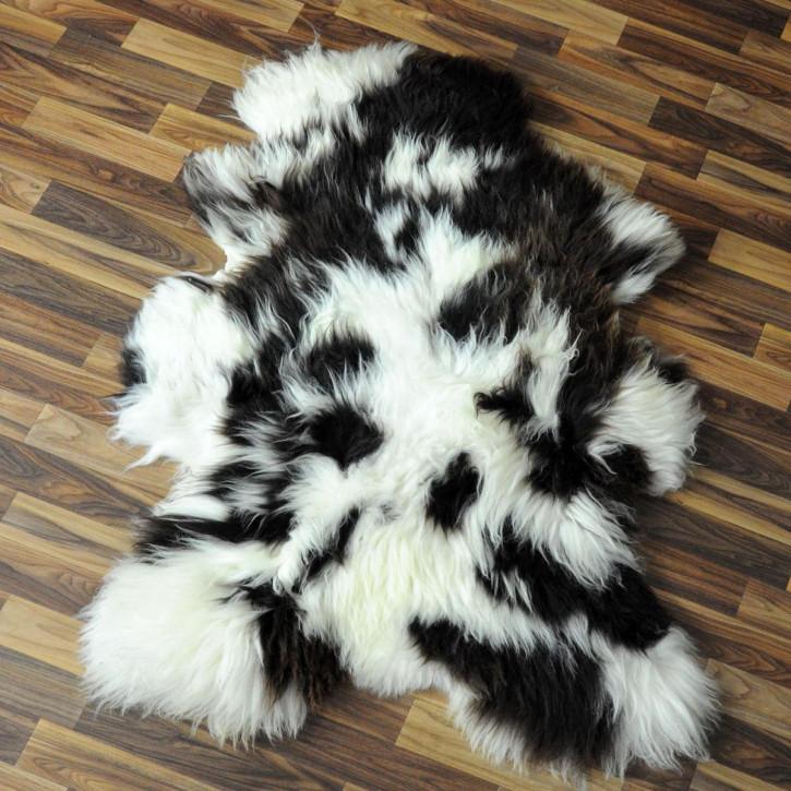 XXL ÖKO Schaffell Fell creme weiß 125x80 geschoren #2809