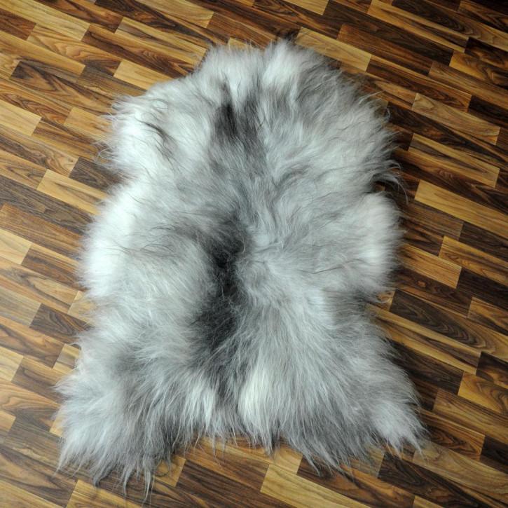 XL ÖKO Island Schaffell natur braun grau 110x75 Auflage #2836