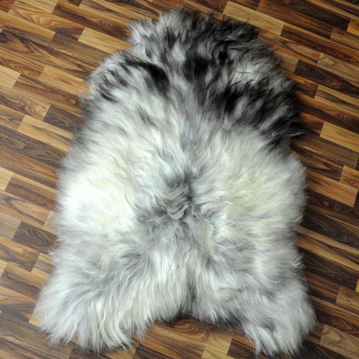 XXXL ÖKO Schaffell Fell creme weiß braun 130x70 sheepskin #2842