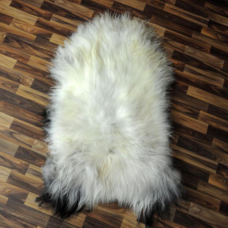 ÖKO Ziegenfell Ziege Fell 125x70 Kamindeko goatskin #2856