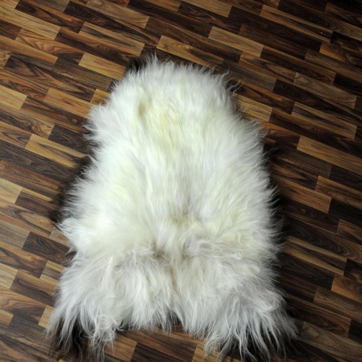 ÖKO Ziegenfell Ziege Fell 120x75 Kamindeko goatskin #2857