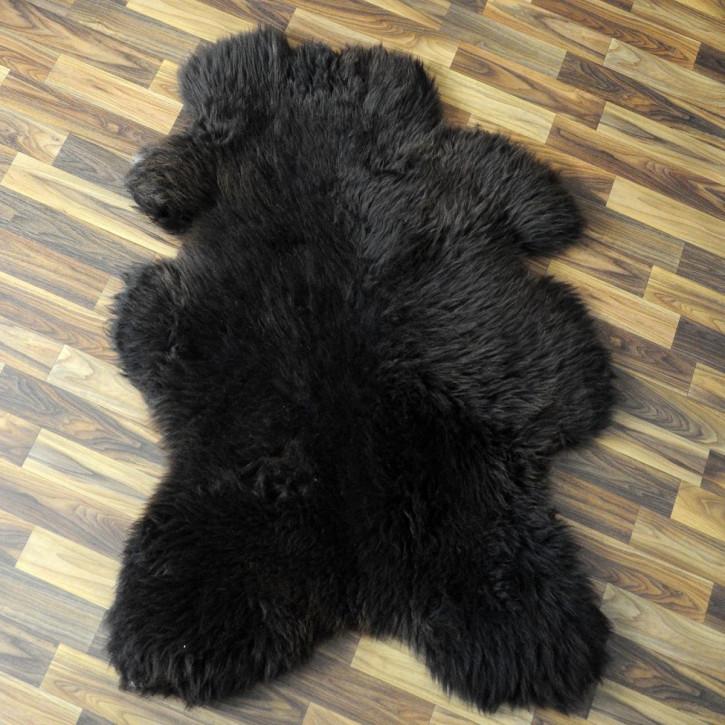 ÖKO Ziegenfell Ziege Fell 85x60 Kamindeko goatskin #2865