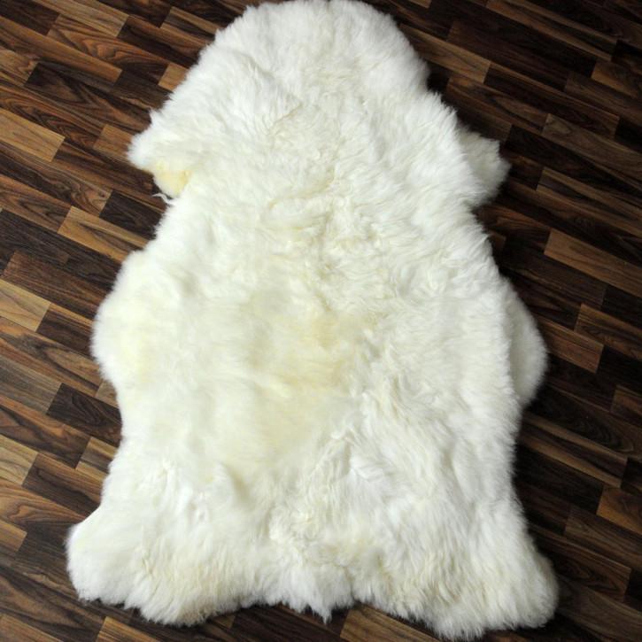 ÖKO Schaffell Fell creme weiß 105x75 geschoren Eisbär #2905