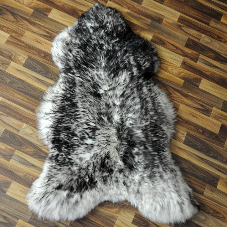 XL ÖKO Schaffell Fell Lammfell beige braun grau 110x65 #2928