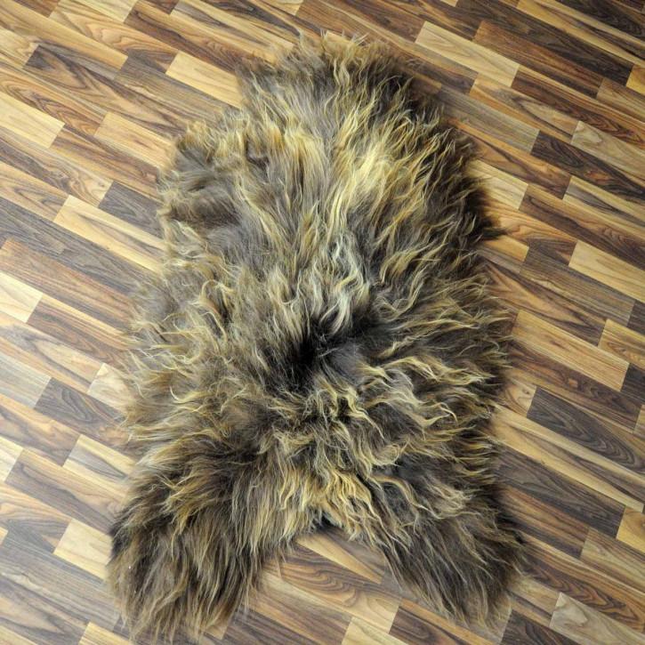 ÖKO Ziegenfell Ziege Fell 80x60 Kamindeko goatskin #2948