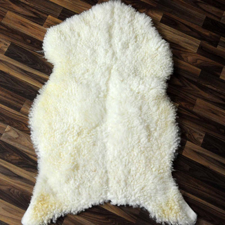 Island Schaffellteppich Decke 170x75 Teppich Patchwork #3175