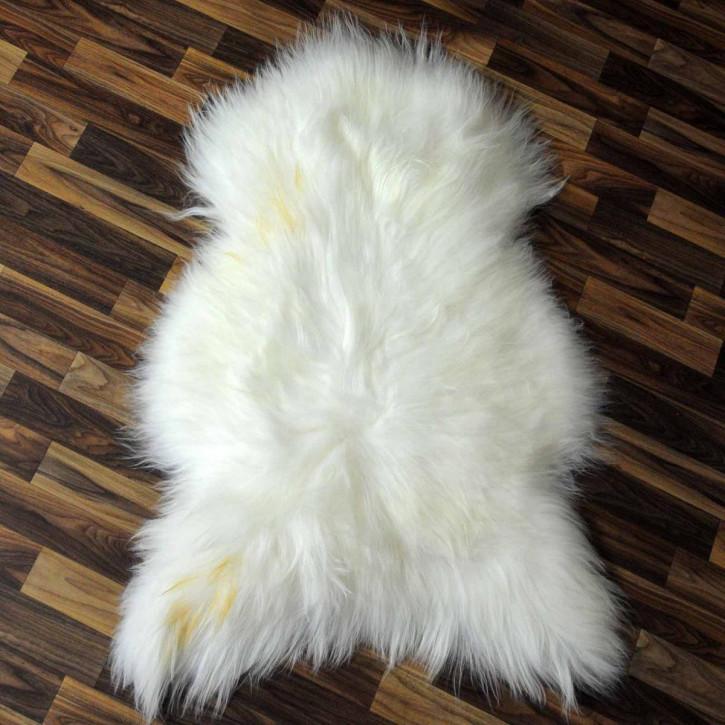 XXL ÖKO Schaffell Fell creme weiß 125x75 sheepskin #3368