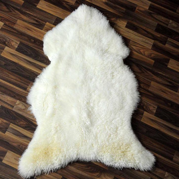 XXXL ÖKO Schaffell Fell creme weiß 130x80 sheepskin #3417