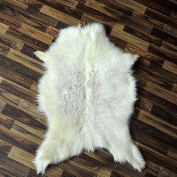 XXXL Schaffell Fell creme weiß 135x90 Auflage #3480