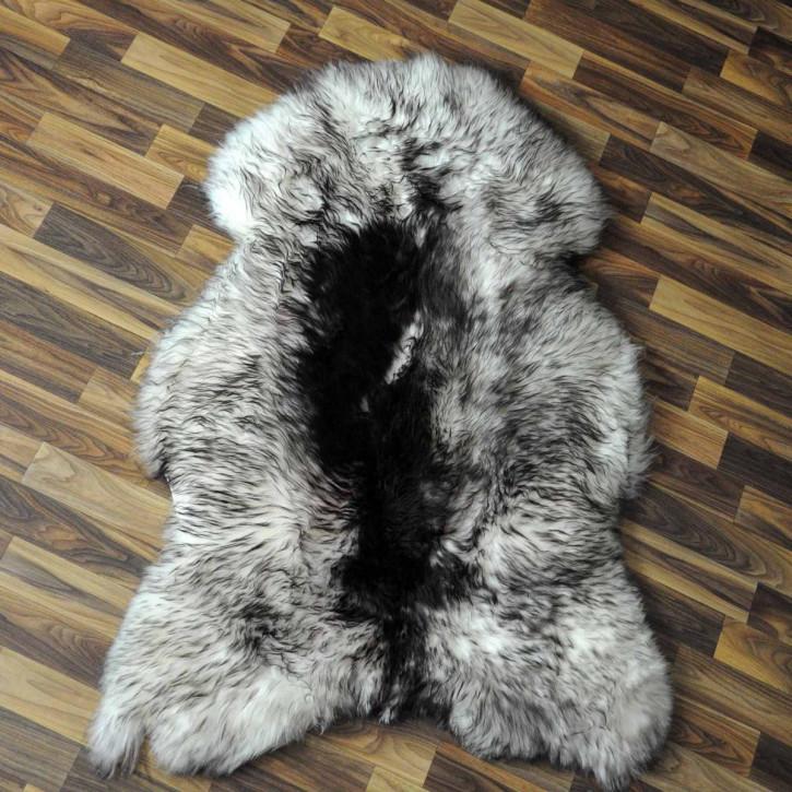 XXXL Schaffell Fell creme weiß 135x80 Couch Stuhl Auflage #3503